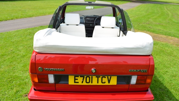 1988 Volkswagen Golf GTI Cabriolet For Sale (picture 36 of 88)