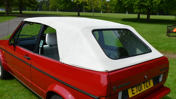 1988 Volkswagen Golf GTI Cabriolet For Sale (picture 4 of 88)