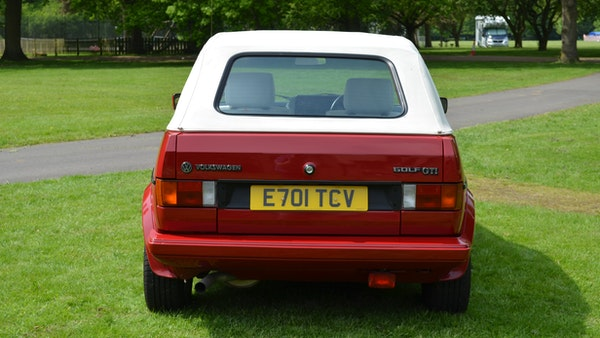 1988 Volkswagen Golf GTI Cabriolet For Sale (picture 8 of 88)
