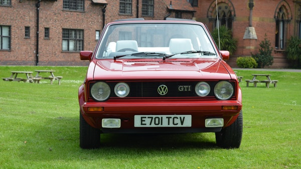 1988 Volkswagen Golf GTI Cabriolet For Sale (picture 18 of 88)