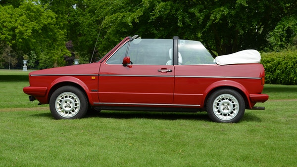 1988 Volkswagen Golf GTI Cabriolet For Sale (picture 16 of 88)