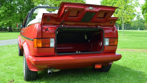 1988 Volkswagen Golf GTI Cabriolet For Sale (picture 51 of 88)