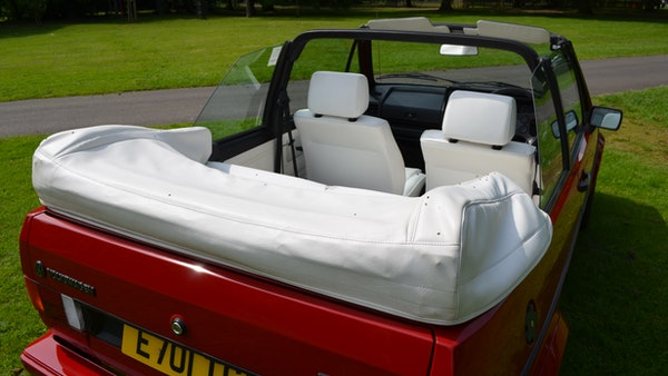 1988 Volkswagen Golf GTI Cabriolet For Sale (picture 35 of 88)