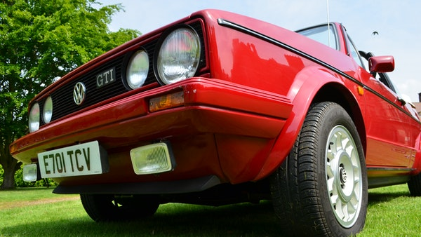 1988 Volkswagen Golf GTI Cabriolet For Sale (picture 60 of 88)