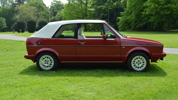 1988 Volkswagen Golf GTI Cabriolet For Sale (picture 5 of 88)