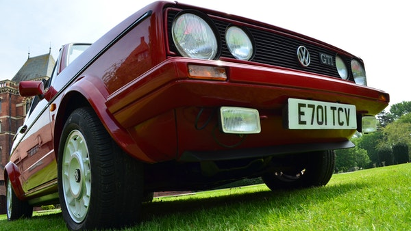 1988 Volkswagen Golf GTI Cabriolet For Sale (picture 62 of 88)