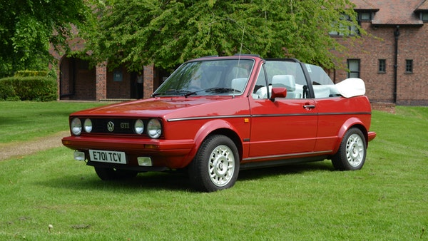 1988 Volkswagen Golf GTI Cabriolet For Sale (picture 17 of 88)
