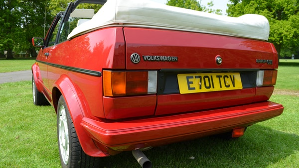1988 Volkswagen Golf GTI Cabriolet For Sale (picture 66 of 88)
