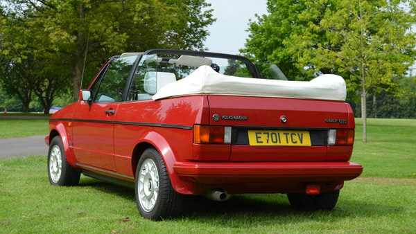 1988 Volkswagen Golf GTI Cabriolet For Sale (picture 15 of 88)