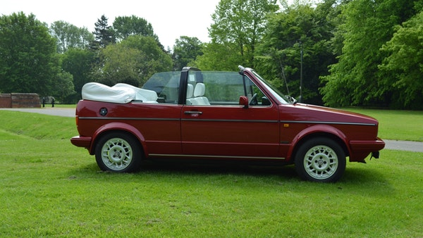1988 Volkswagen Golf GTI Cabriolet For Sale (picture 11 of 88)