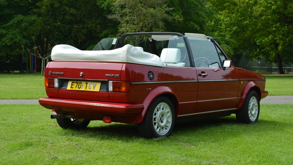1988 Volkswagen Golf GTI Cabriolet For Sale (picture 12 of 88)