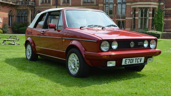 1988 Volkswagen Golf GTI Cabriolet For Sale (picture 1 of 88)