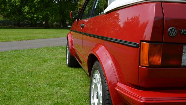 1988 Volkswagen Golf GTI Cabriolet For Sale (picture 68 of 88)