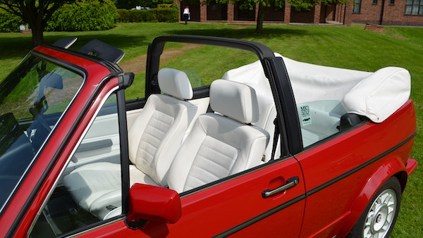 1988 Volkswagen Golf GTI Cabriolet For Sale (picture 37 of 88)