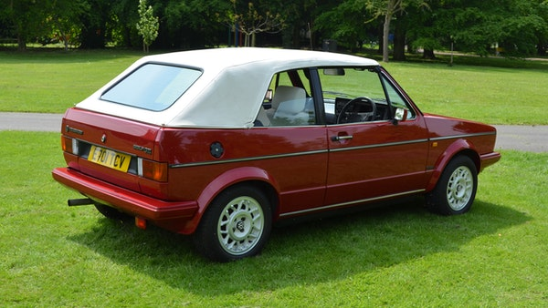 1988 Volkswagen Golf GTI Cabriolet For Sale (picture 9 of 88)