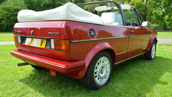 1988 Volkswagen Golf GTI Cabriolet For Sale (picture 13 of 88)