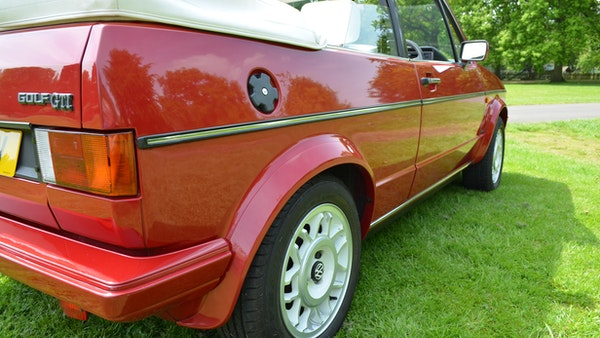 1988 Volkswagen Golf GTI Cabriolet For Sale (picture 69 of 88)