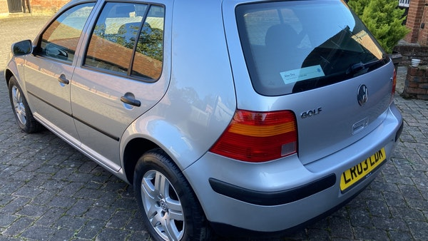 2003 Volkswagen Golf 1.6 For Sale (picture 35 of 127)