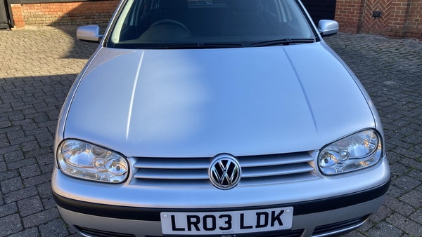 2003 Volkswagen Golf 1.6 For Sale (picture 101 of 127)