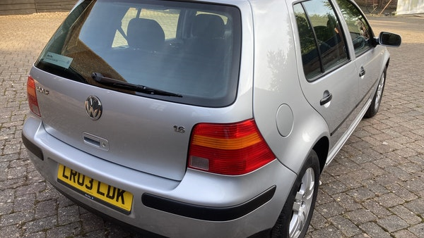 2003 Volkswagen Golf 1.6 For Sale (picture 109 of 127)