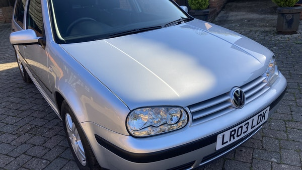2003 Volkswagen Golf 1.6 For Sale (picture 100 of 127)