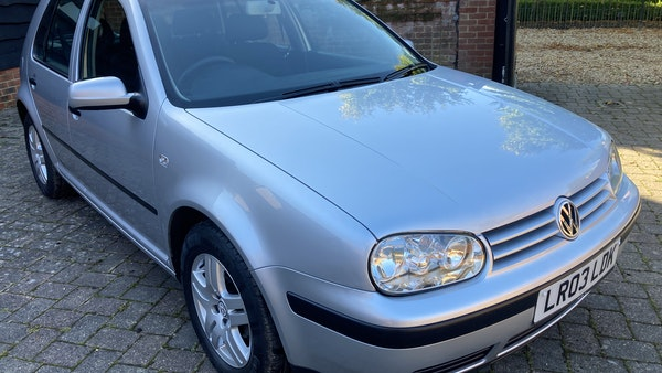 2003 Volkswagen Golf 1.6 For Sale (picture 6 of 127)