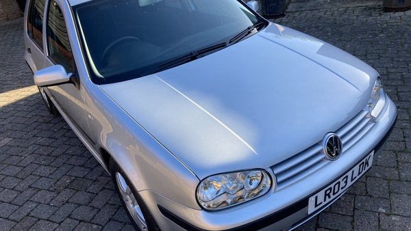 2003 Volkswagen Golf 1.6 For Sale (picture 98 of 127)