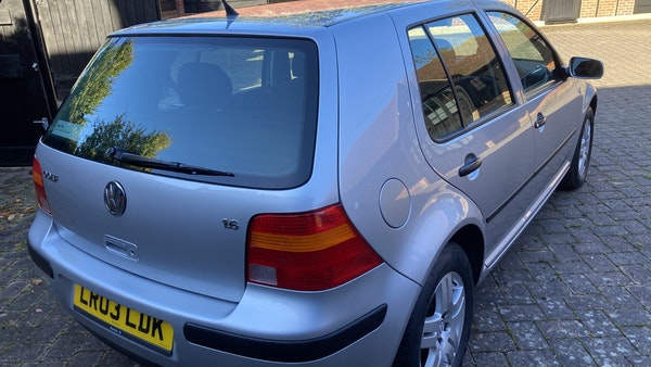 2003 Volkswagen Golf 1.6 For Sale (picture 115 of 127)