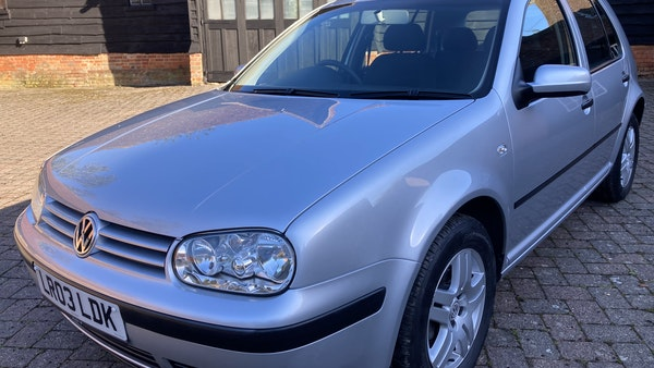 2003 Volkswagen Golf 1.6 For Sale (picture 105 of 127)