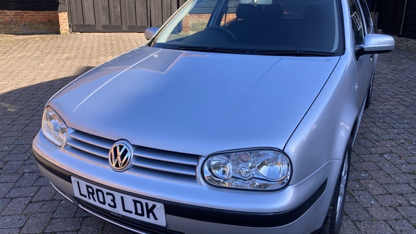 2003 Volkswagen Golf 1.6 For Sale (picture 102 of 127)