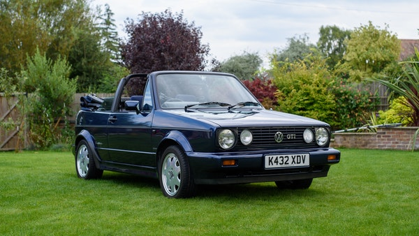 1993 VW Golf GTI Rivage For Sale (picture 1 of 94)