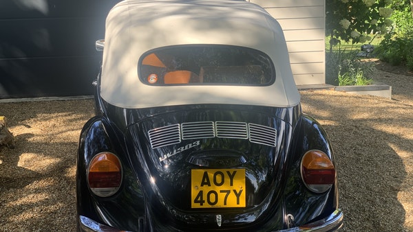 1975 VW Karmann 1303 Beetle Convertible For Sale (picture 29 of 51)