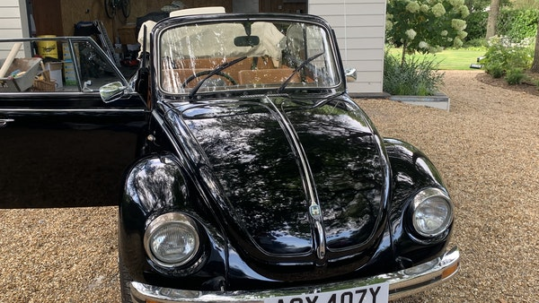 1975 VW Karmann 1303 Beetle Convertible For Sale (picture 46 of 51)