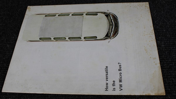 RESERVE LOWERED - 1965 Volkswagen Samba Microbus For Sale (picture 124 of 173)