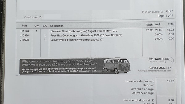 1975 Volkswagen Type 2 Camper For Sale (picture 119 of 138)