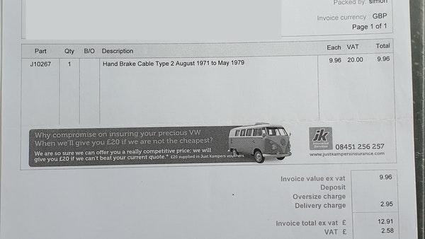 1975 Volkswagen Type 2 Camper For Sale (picture 126 of 138)
