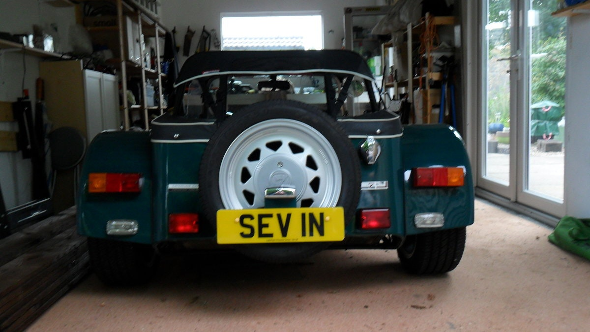 Number Plate - SEV1N SOLD (picture 1 of 1)