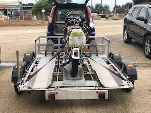 2019 X3 Bike trailer or Quads / mowers etc. For Sale (picture 3 of 4)