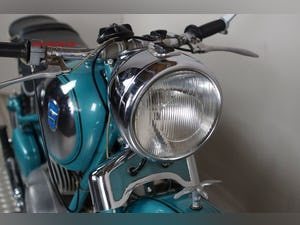 1954 Adler MB 200, 195 cc, 11 hp For Sale (picture 5 of 12)