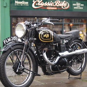 Picture of 1938 AJS 350 Model 26 In Very Usable Condition. SOLD