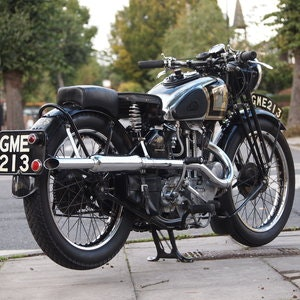 Picture of 1937 AJS 350 Model 26 Vintage. SOLD