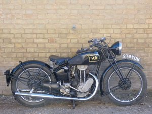 Picture of 1937 AJS Model 22 250cc For Sale