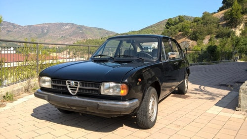 Picture of 1979 Never Restored with original paint Alfa Alfasud 1,3 Super For Sale