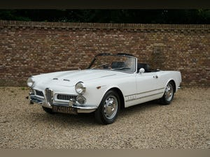 1959 Alfa Romeo 2000 Touring Spider Nice overall condition, perfe For Sale (picture 1 of 6)