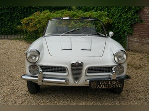 1959 Alfa Romeo 2000 Touring Spider Nice overall condition, perfe For Sale (picture 5 of 6)