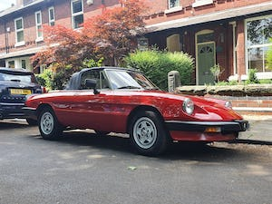 1985 Excellent Condition Alfa Romeo Spider For Sale (picture 2 of 12)