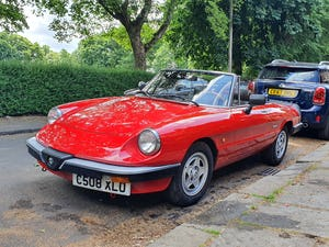 1985 Excellent Condition Alfa Romeo Spider For Sale (picture 6 of 12)