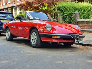 1985 Excellent Condition Alfa Romeo Spider For Sale (picture 7 of 12)
