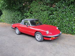 1985 Excellent Condition Alfa Romeo Spider For Sale (picture 10 of 12)