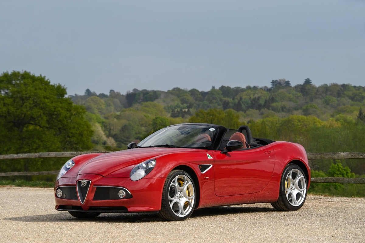 2010 Alfa Romeo 8C Spider - 3000 miles from new, two owners  For Sale (picture 1 of 6)